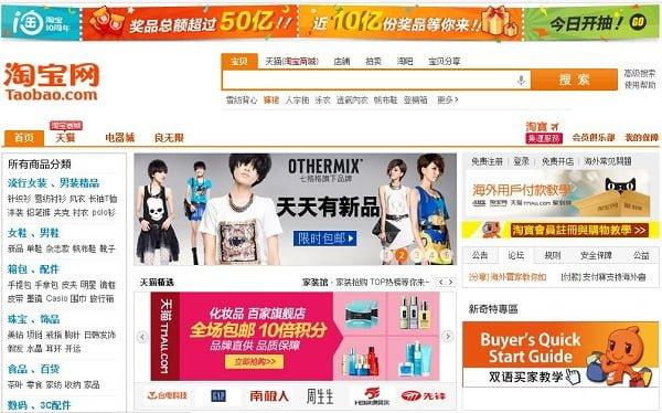 mua hàng tại taobao