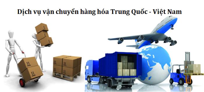 vận chuyển hàng Trung Quốc Việt Nam