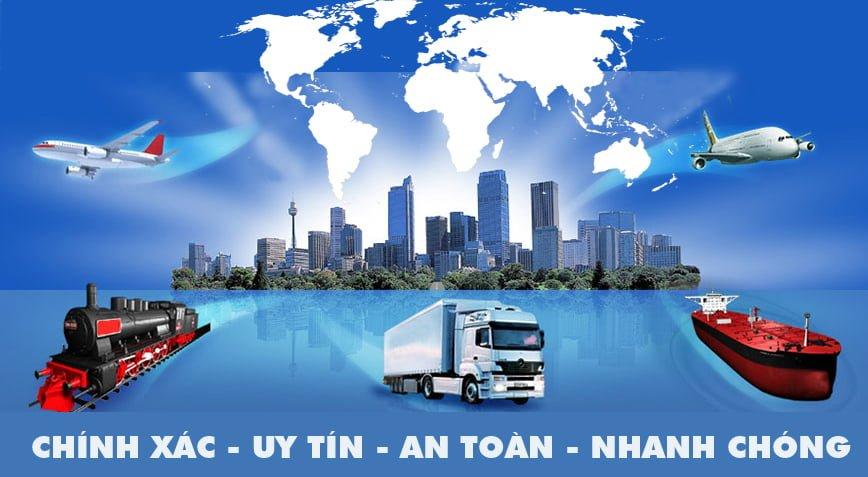 đánh hàng hóa từ trung quốc về Việt Nam