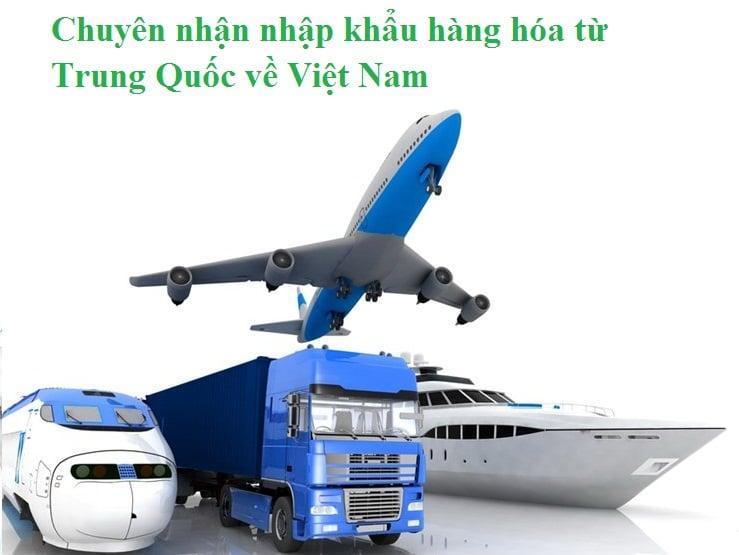Nhập khẩu hàng hóa Trung Quốc giá gốc