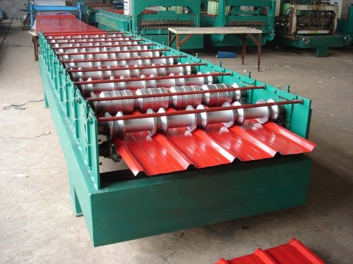 HBS Việt Nam nhập khẩu máy cán tôn cao cấp giá tốt từ Trung Quốc về Việt Nam
